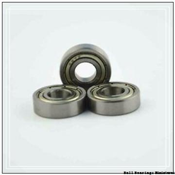 6mm x 16mm x 5mm  ZEN s696a-zen Ball Bearings Miniatures
