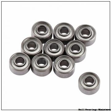 7mm x 17mm x 5mm  ZEN s697-2rs-zen Ball Bearings Miniatures