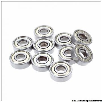 6mm x 15mm x 5mm  ZEN 696-2z-zen Ball Bearings Miniatures