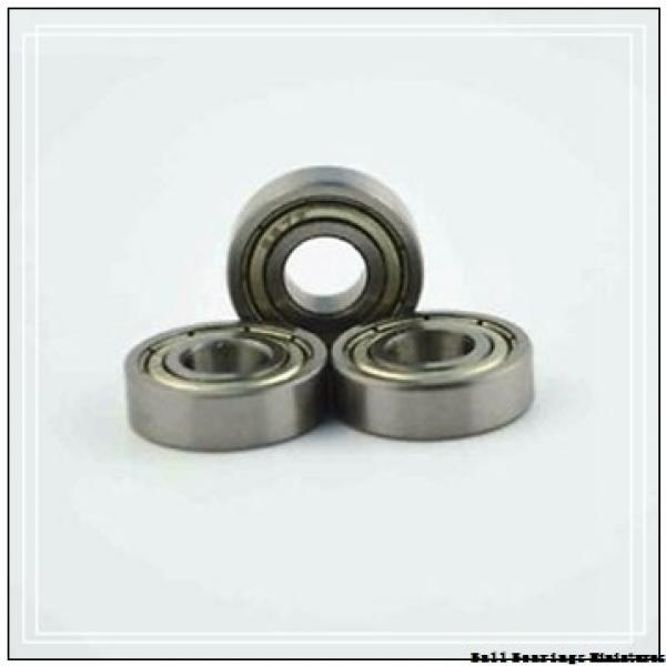 7mm x 14mm x 3.5mm  ZEN s687-zen Ball Bearings Miniatures #3 image