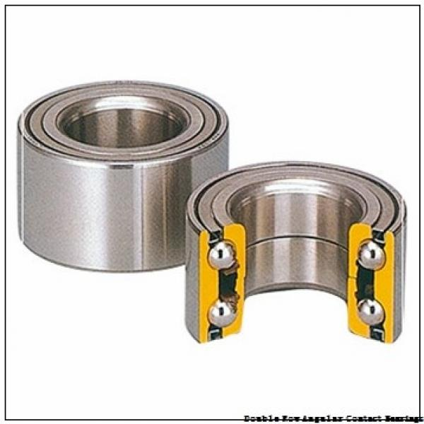 70mm x 125mm x 39.7mm  NSK 3214jc3-nsk Double Row Angular Contact Bearings #2 image