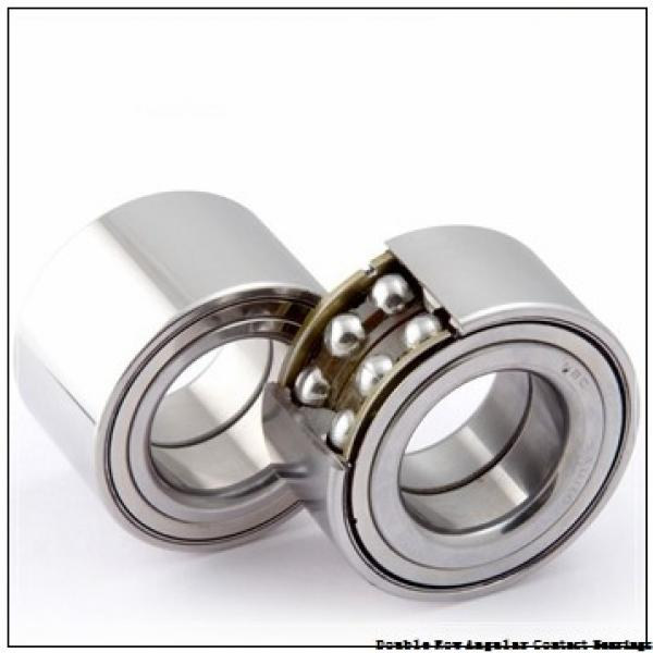 70mm x 125mm x 39.7mm  NSK 3214jc3-nsk Double Row Angular Contact Bearings #3 image