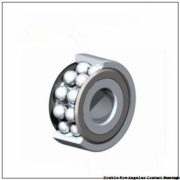 90mm x 160mm x 52.4mm  NSK 3218m-nsk Double Row Angular Contact Bearings #1 image