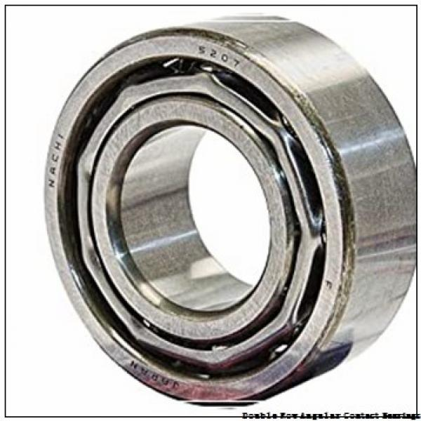 70mm x 125mm x 39.7mm  NSK 3214b-2rstn-nsk Double Row Angular Contact Bearings #3 image